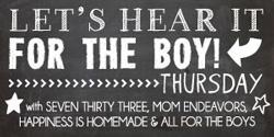 Let's Hear It For The Boy Thursday