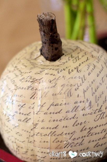 Fall Craft: Fall Inspired Centerpiece