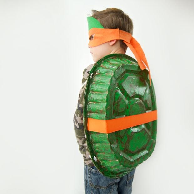 DIY Teenage Mutant Ninja Turtle Costume